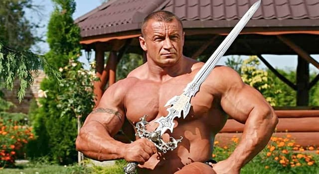 Culture Trivia Question: How many times did Mariusz Pudzianowski win the World's Strongest Man title?