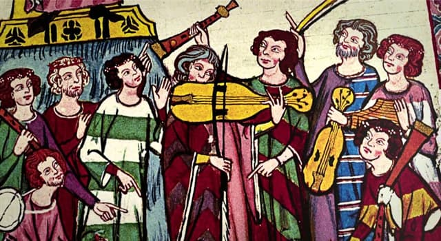 History Trivia Question: What were composers and performers of Old Occitan lyric poetry called during the High Middle Ages?