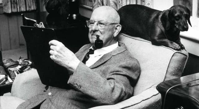 Culture Trivia Question: In the works of PG Wodehouse (pictured) who or what is the Empress of Blandings?