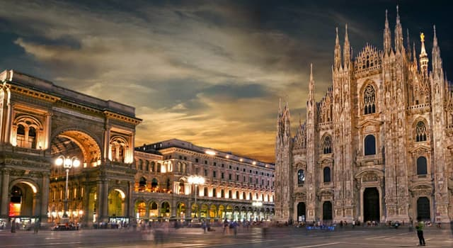 Geography Trivia Question: In which country is Milan located?