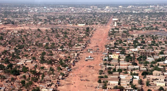 Geography Trivia Question: Which city is the capital of Burkina Faso?