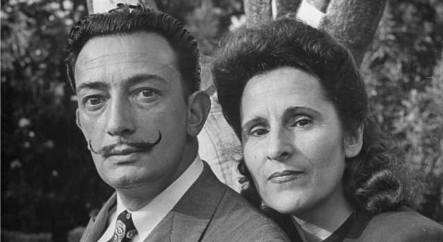 Culture Trivia Question: Salvador Dalí's wife was usually known by which name?