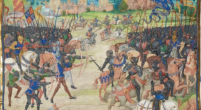 History Trivia Question: The Battle of Poitiers was a battle between which two nations?