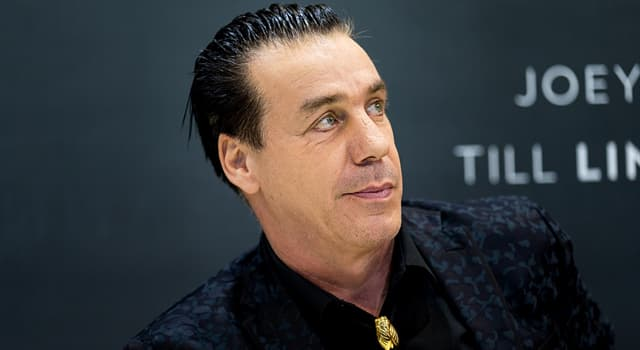 Culture Trivia Question: Till Lindemann is the lead vocalist of which band?