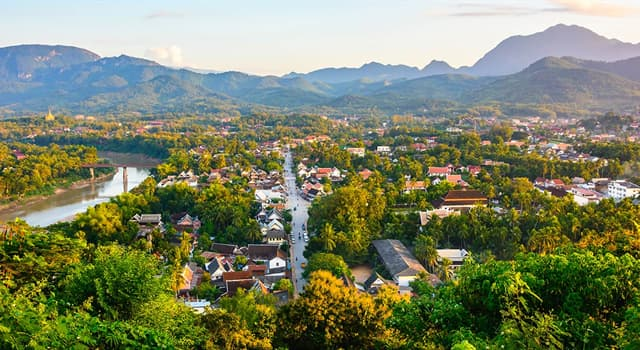 Geography Trivia Question: What is the capital of Laos?