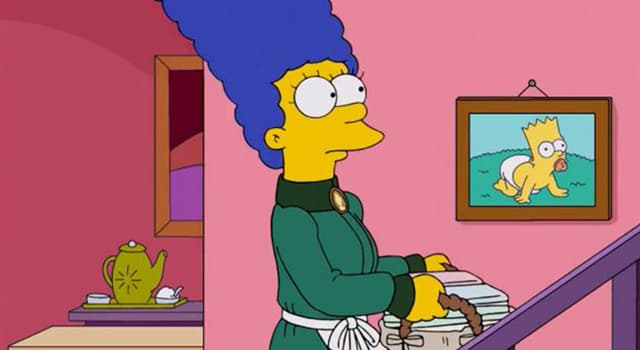 Movies & TV Trivia Question: What is the name of Homer Simpson's wife?