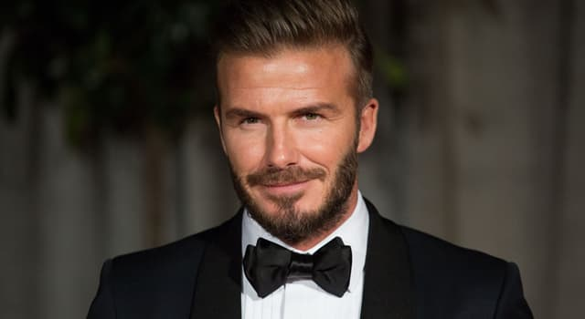 Society Trivia Question: What is the name of Victoria Beckham's husband?