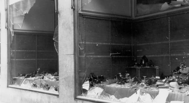 "History Trivia Question: In which year did ""Kristallnacht"" occur?"