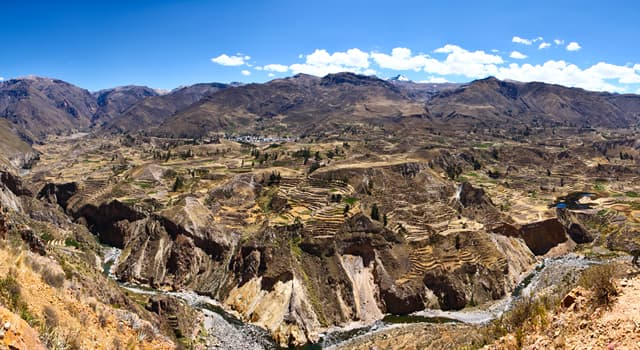 Geography Trivia Question: Where is the Colca Canyon located?