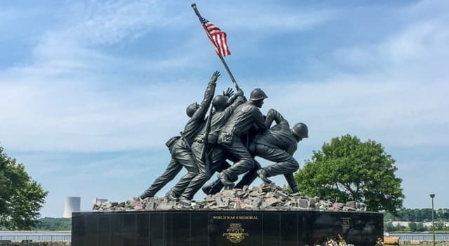 History Trivia Question: Where is the original Iwo Jima monument located?
