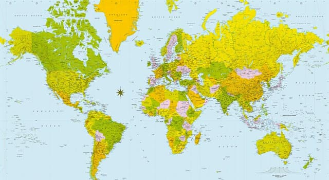 Geography Trivia Question: Which continent is the world's second-largest and second-most populous?