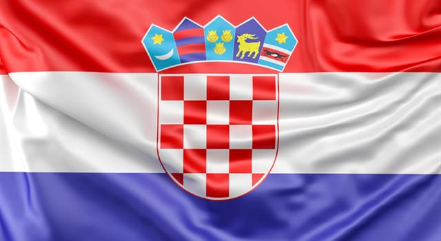 Geography Trivia Question: Which country does this flag belong to?