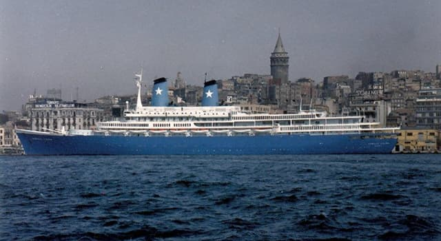 History Trivia Question: Which cruise ship was hijacked in the Mediterranean Sea in 1985?
