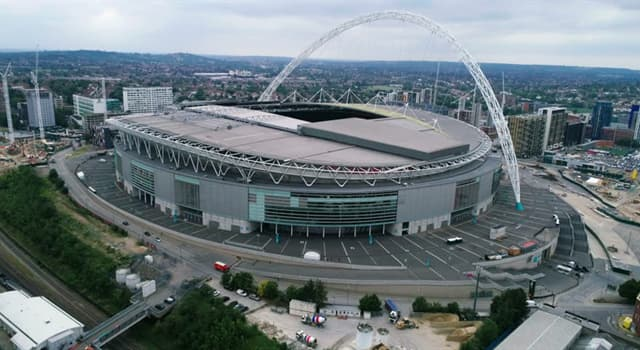 Sport Trivia Question: Which football team won the first Football Association Cup played at the new Wembley Stadium?