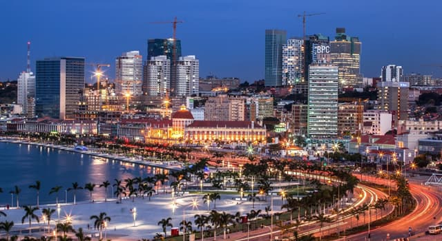 Geography Trivia Question: Which is the capital of Angola?