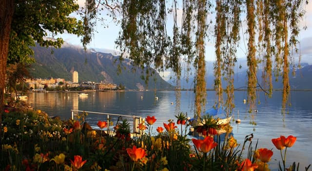 Geography Trivia Question: Which is the largest body of water in Switzerland?