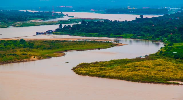 Geography Trivia Question: Which of these countries does the Mekong river not flow through?