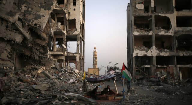 Geography Trivia Question: Which of these is a self-governing Palestinian territory?