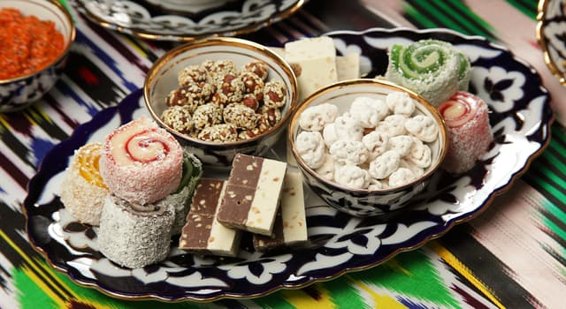 Culture Trivia Question: Which of these is a Middle Eastern sweet made from flour or nut butter?