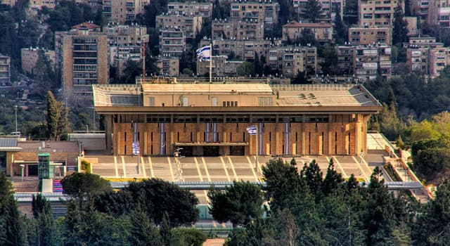 Society Trivia Question: Which of these is the unicameral national legislature of Israel?