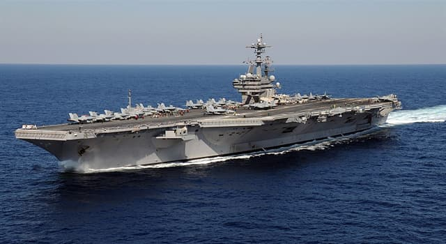 Culture Trivia Question: Which of these US president's has a US naval vessel named after him?