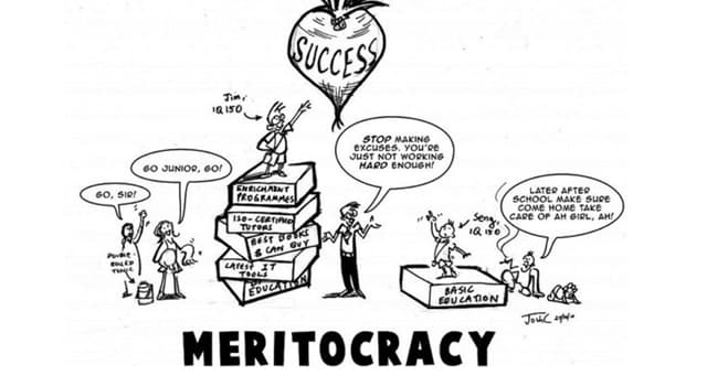 "Society Trivia Question: Which person coined the term ""meritocracy""?"