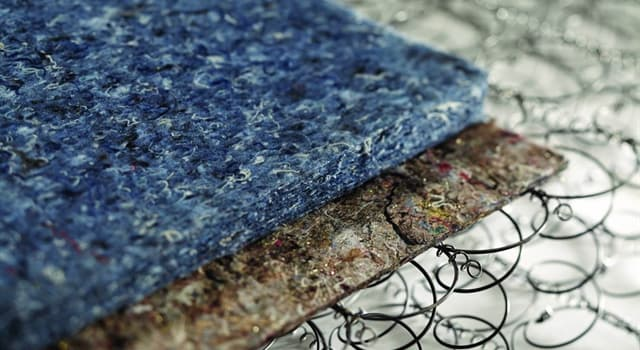 Society Trivia Question: Which textile material is produced by matting, condensing and pressing fibers together?