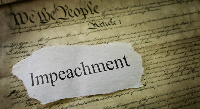 History Trivia Question: Who became the fifth person in United States history to be removed from office through impeachment?