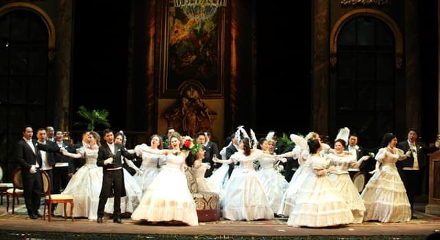 "Culture Trivia Question: Who composed ""La traviata""?"
