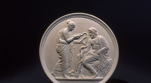 Culture Trivia Question: Who is a hero and god of medicine in ancient Greek religion?