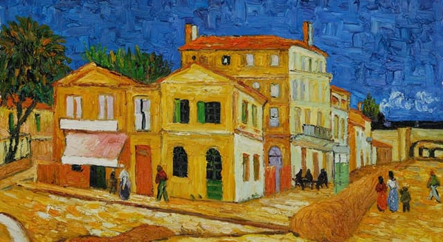 "Culture Trivia Question: Who is the painter of ""The Yellow House""?"