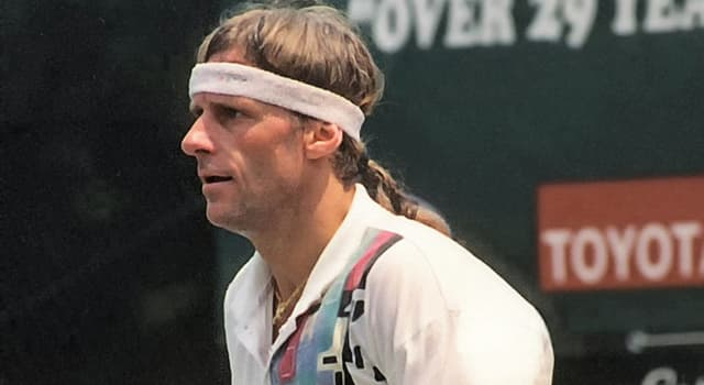 Sport Trivia Question: Who is the tennis player pictured?