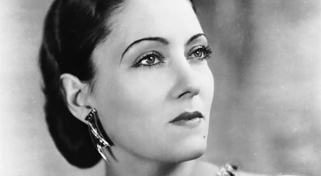 Society Trivia Question: Who was Gloria Swanson?