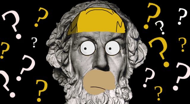 Culture Trivia Question: Which of these was Greek Homer's occupation?