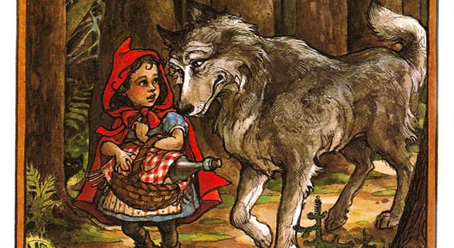 "Culture Trivia Question: Who wrote the first tale of ""Little Red Riding Hood""?"