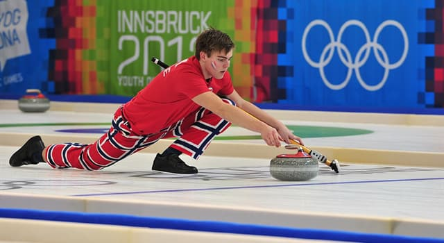 Sport Trivia Question: How long is the playing surface in curling?