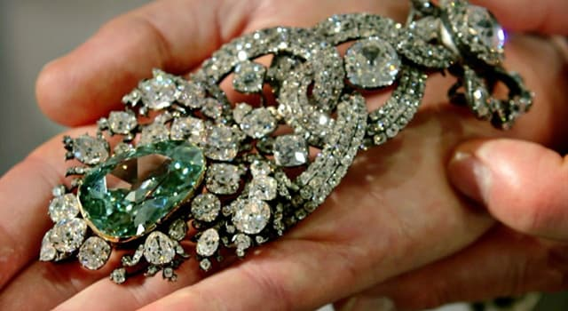 Culture Trivia Question: How many carats are in the Dresden Green Diamond?