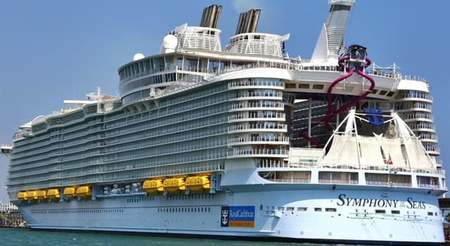 Society Trivia Question: As of 2020, how many crew members does the world's largest cruise ship employ?