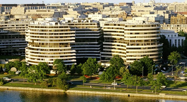 Society Trivia Question: How many people were first arrested in the Watergate building in 1972?