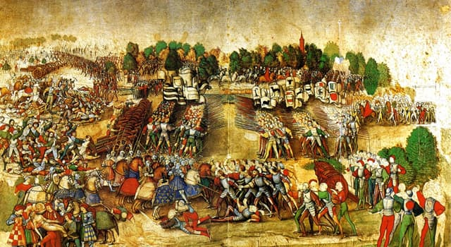 History Trivia Question: How many years did the First Italian War last?