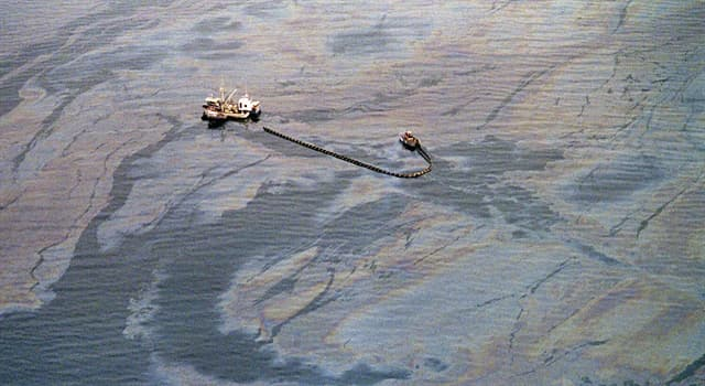 History Trivia Question: In 1989, how many barrels of oil did the Exxon Valdez spill off the coast of Alaska?