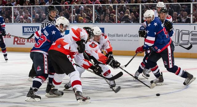 Sport Trivia Question: In men's international ice hockey, which of these teams is not one of the 'Big Six'?