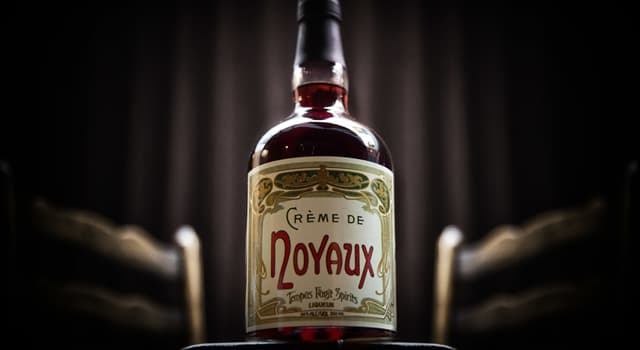 Culture Trivia Question: In mixology, what is Crème de Noyaux?