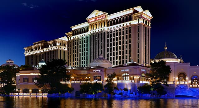 Society Trivia Question: In what year was Caesars Palace established on the Las Vegas Strip?