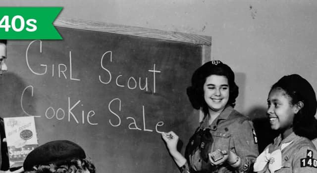 History Trivia Question: In what year was the first Girl Scout Cookie sale?