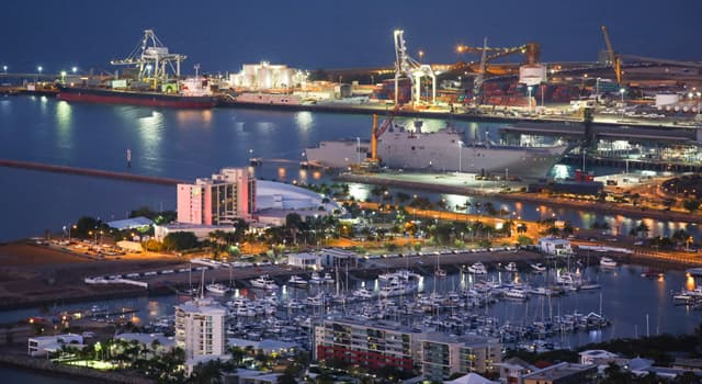 Geography Trivia Question: In which country is the Port of Townsville?