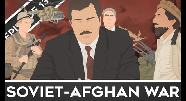 History Trivia Question: In which year did the Soviet Union invade Afghanistan starting the Soviet–Afghan War?
