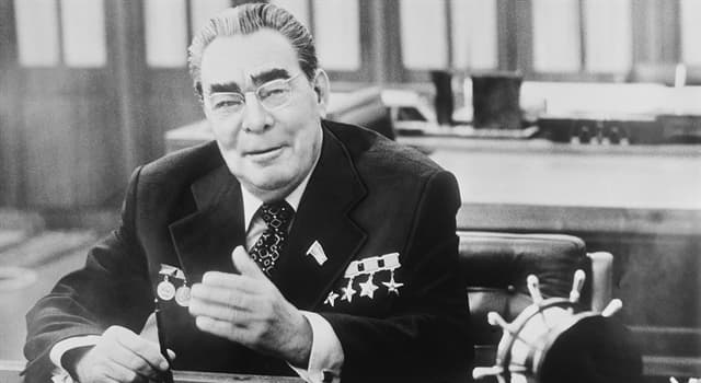 History Trivia Question: In which year was the Brezhnev Constitution in the Soviet Union adopted?