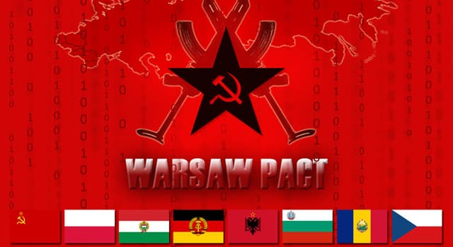 History Trivia Question: In which year was the Warsaw Pact founded?