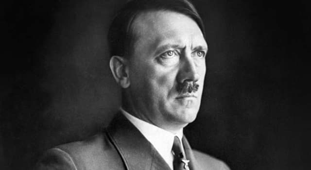 History Trivia Question: Adolf Hitler's real surname was Schicklgruber.